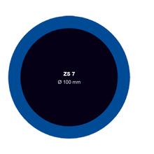 Záplata ZS 7 na opravu duší - průměr 100 mm