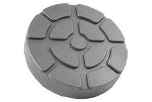 Jack rubber pad 123x25 mm with metal reinforcement