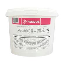 Montážní pasta MONTI 3l bílá