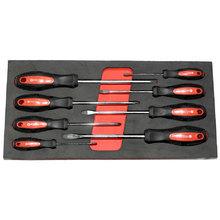 Set of screwdrivers, 8 pcs in STRC9/11 module