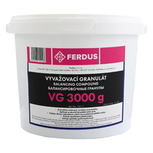 Vyvažovací granulát (prášok) VG 3000g