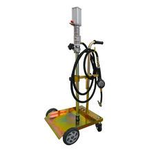 Pojízdná olejová výdejní souprava pro sudy 20 – 60 kg