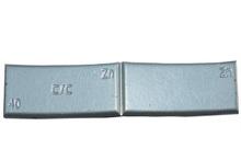Zinkové samolepící závaží ZNC 40g - šedý lak
