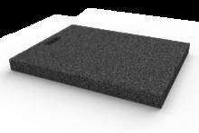 Gumová výplňová podložka 633x500x50 mm