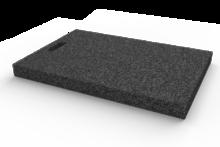 Gumová výplňová podložka 600x450x50 mm