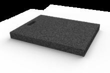 Gumová výplňová podložka 650x460x50 mm