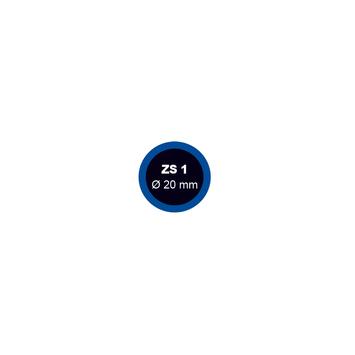 Záplata ZS 1 na opravu duší - průměr 20 mm  - 1