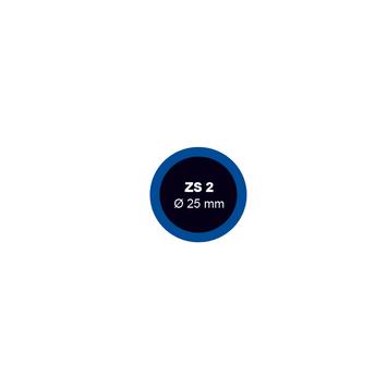 Záplata ZS 2 na opravu duší - průměr 25 mm - 1