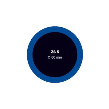 Záplata ZS 5 na opravu duší - průměr 60 mm - 1