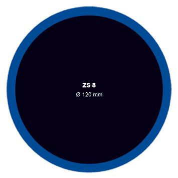 Záplata ZS 8 na opravu duší - průměr 120 mm - 1