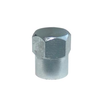 Čepička ventilu kovová CT chromovaná