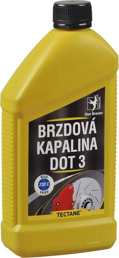 Brzdová kapalina DOT3 500 ml