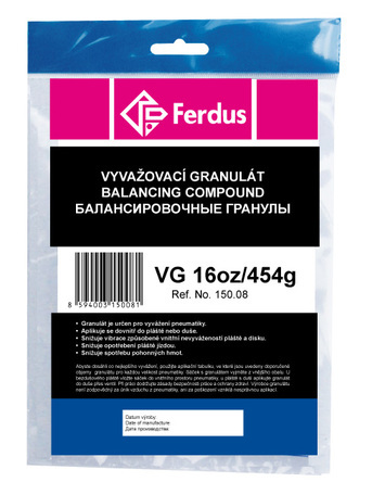 Vyvažovací granulát (prášek) VG16oz/454g