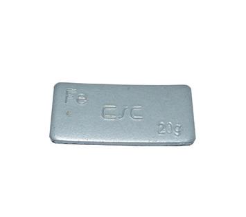 Samolepící závaží FEC 20 g - šedý lak