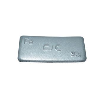 Samolepící závaží FEC 30 g - šedý lak