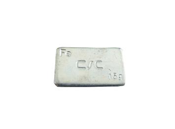 Nalepovací závaží FEC 15 g - pozinkované