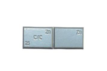 Zinkové samolepící závaží ZNC 25g - šedý lak