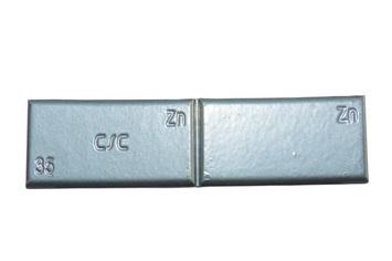 Zinc adhesive weight ZNC 35g - grey paint