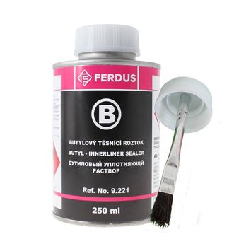 Butylový těsnící roztok B 250 ml + menší štětec - 1