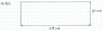 Gumová podložka zvedáku 129x35 mm - 2