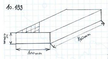 Gumová podložka zvedáku 160x100x25 mm - 2