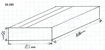 Gumová podložka zvedáku 165x100x35 mm - 2