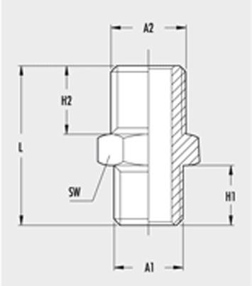 Redukce GAV - 1/4 - 3/8 - 2