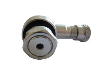 Bezdušový ventil MOTO 11,3 stříbrný - 2