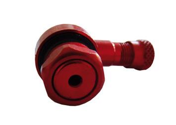 Bezdušový ventil MOTO 11,3 červený - 2
