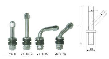 Bezdušový ventil MOTO VS-8-45 - 2