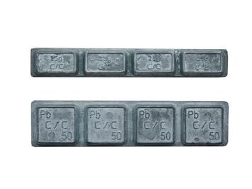 Samolepící závaží TRUCK Pb 4 x 50g - 100 - 2