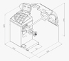 Vyvažovačka CB67 Automat 2D - 2/7