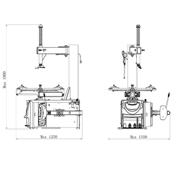 Zouvačka LC890U 230V - 2
