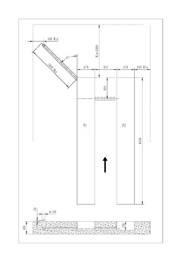 Nůžkový zvedák pro geometrii SF-H4000 - 2