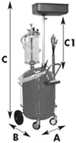Olejová jímka APAC 65 l - 2