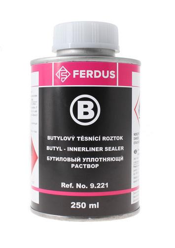 Butylový těsnící roztok B 250 ml + menší štětec - 2