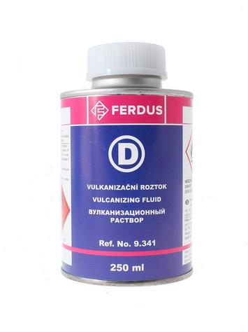 Vulkanizační roztok D 250 ml + menší štětec - 2