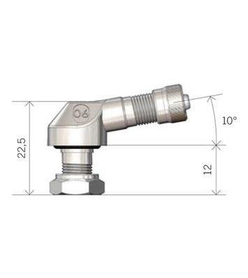 Bezdušový ventil MOTO 8,3 zlatý - 3