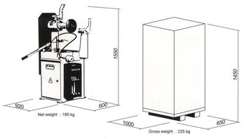 Rovnačka disků K-mak BASIC 10-22'' - 3
