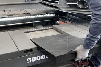 Gumová výplňová podložka 530x470x50 mm - 4