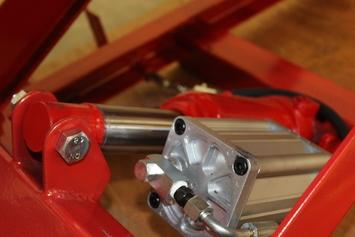 Zvedák pro motocykly - pneumatický - 4