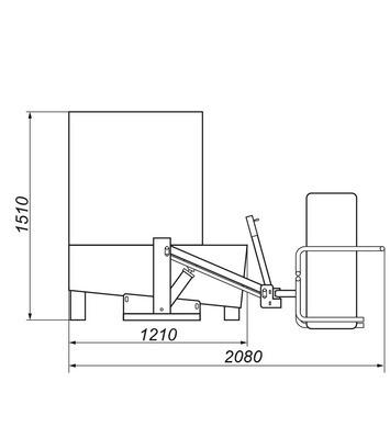 Myčka kol WULKAN 4x4HP - 4