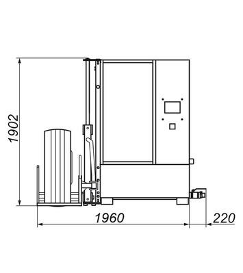 Myčka kol WULKAN 500HP special - nákladní - 4