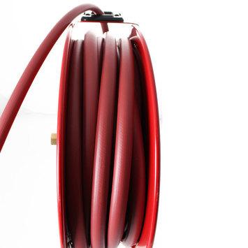 Otevřený samonavíjecí buben s hadicí 15m pro vzduch a vodu  - 6