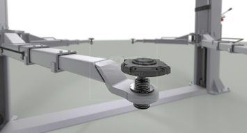 Adaptér pro zvedání aut modelu Tesla 3 - větší velikost - 6