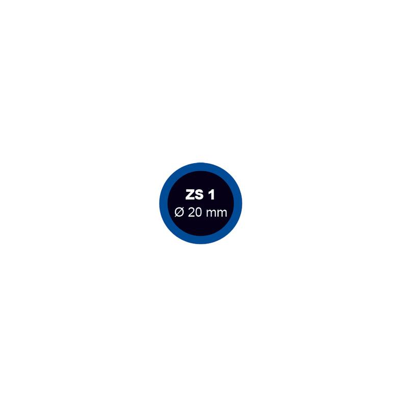 Záplata ZS 1 na opravu duší - průměr 20 mm