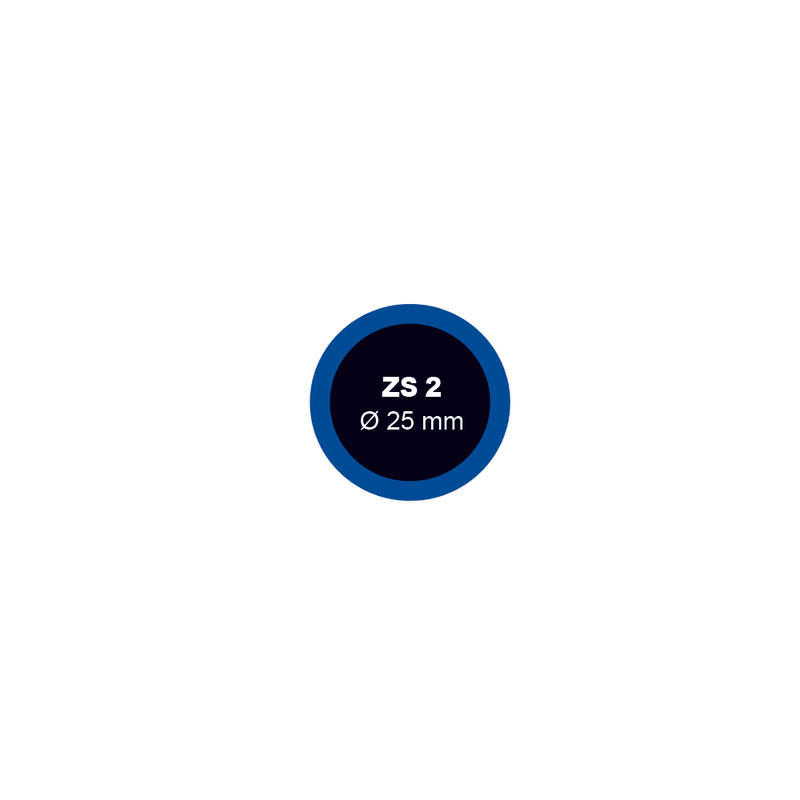 Záplata ZS 2 na opravu duší - průměr 25 mm