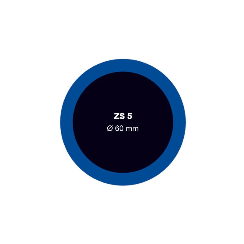 Záplata ZS 5 na opravu duší - průměr 60 mm