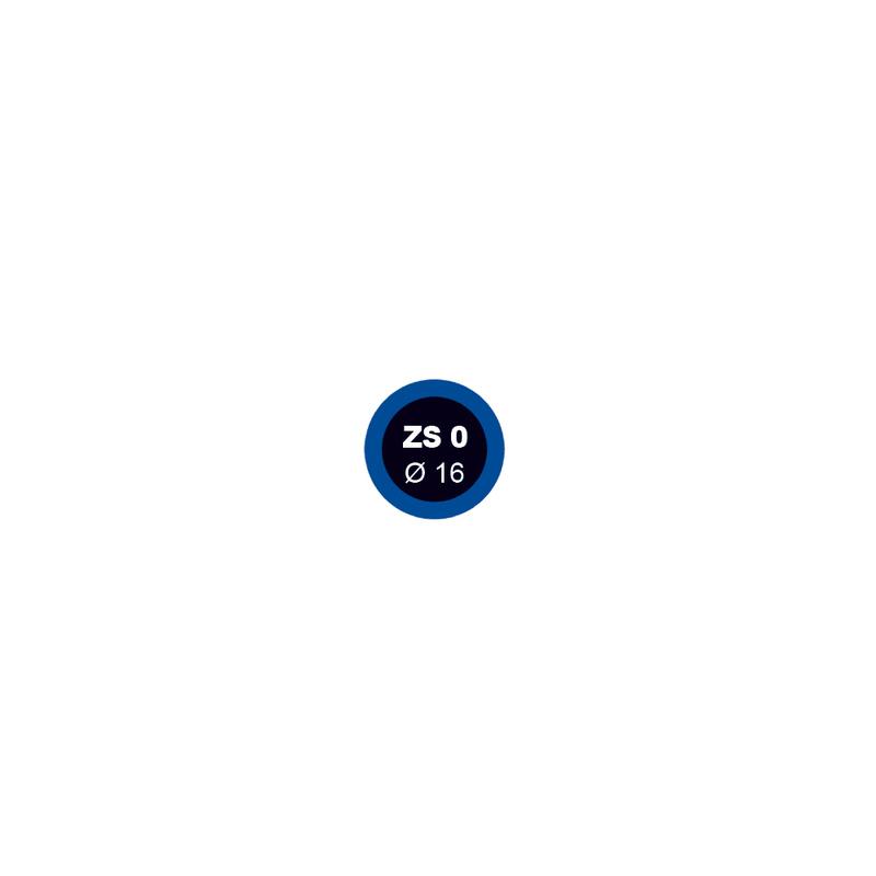 Záplata ZS 0 na opravu duší - průměr 16 mm