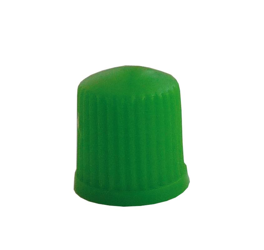 Čepička ventilu GP3a-05 plast zelená